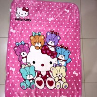 Selimut Karakter Anak Hello Kitty