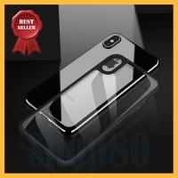 Casing Premium iPhone X 7 8 Plus Transparan Clear Thin Soft Hard Case