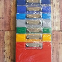 Clipboard With Cover Merk OZ Folio - Papan Alas Ujian