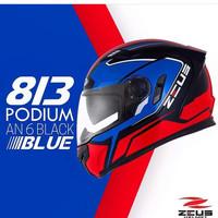 Helm Zeus Z813 / ZS813 AN6 Blue Red Black
