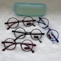 frame kacamata bulat tr lentur