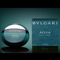 parfum pria cowok bulgari aqua bvlgari aqva pour homme 50ml ori reject