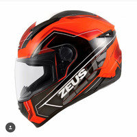 Helm Zeus Z811 / ZS811 AL5 neon orange Black