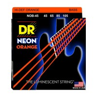Senar Bass DR Strings, K3 Neon Hi-Def Orange Bass, NOB-45 (45-105)