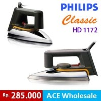 Setrika Philips Classic HD 1172 Original strika philip HD1172 Awet