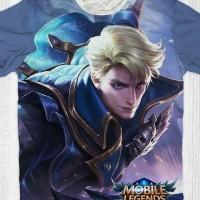 Kaos Anak & Dewasa - Game Mobile Legend - Aalucard