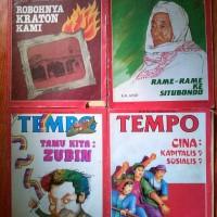 majalah tempo jadul 1980 an