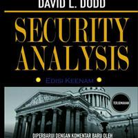 Benjamin Graham - Security Analysis - Bahasa Indonesia - Benjam Graham