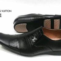 Sepatu Pantofel LV 311 KulitAsli Sepatu Kerja Kantor Pantopel Pria