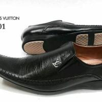 Sepatu Pantofel LV 4001 KulitAsli Sepatu Kerja Kantor Pantopel Pria