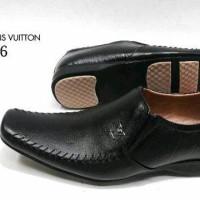 Sepatu Pantofel LV 316 KulitAsli Sepatu Kerja Kantor Pantopel Pria