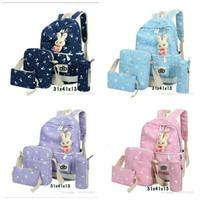 Tas Ransel 4 in 1 - Tas Ransel Anak - Tas Sekolah bunny bags