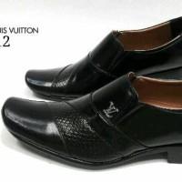 Sepatu Pantofel LV 512 KulitAsli Sepatu Kerja Kantor Pantopel Pria