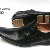 Sepatu Pantofel LV 4002 KulitAsli Sepatu Kerja Kantor Pantopel Pria