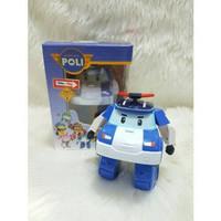 ROBOCAR POLI - Mainan policar mobil polisi - anak edukatif - edukasi
