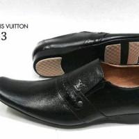 Sepatu Pantofel LV 323 KulitAsli Sepatu Kerja Kantor Pantopel Pria
