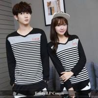 kaos couple | baju pasangan | jual sweater termurah | fendy lp couple