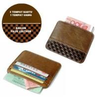 Dompet Kartu Tipis Slim Card Wallet Square Pattern Kuli PROMO