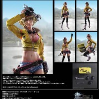 "Final Fantasy XV"" Play Arts Kai Cidney Aurum"