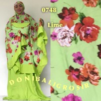 mukena bali super jumbo beauty rose