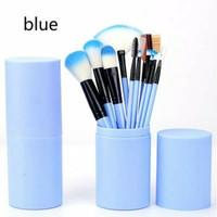 Make up Brush 12 in Tube kuas Make up 12 Set