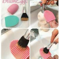 brush egg murah pembersih brush makeup