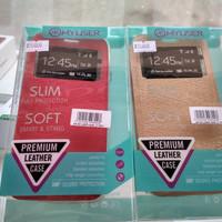 Premium Leather cover flip case softcase myuser samsung J7 pro kulit