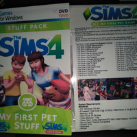 The Sims 4 My First pet Complete all Stuff 7DVD