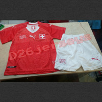 Jersey KIDS Swiss home Piala Dunia 2018 OFFICIAL