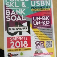 BUKU FOKUS SKL DAN BANK SOAL UN SMP MTS PLUS USBN 2018 wr