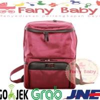 Natural Moms Cooler Bag Backpack Max Maroon / Tas Asi Bayi