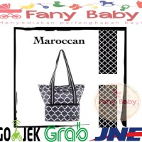 Natural Moms Cooler Bag Tote Maroccan / Tas Asi Bayi