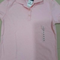 BAJU WANITA MURAH SALE Polo Shirt Hush Puppies - Tshirt Green Pink