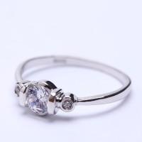 RL 184 - Ring Silver Emas Putih ASLI, Made in Korea-Garansi 6 bulan