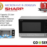 PROMO Sharp Microwave R-21D0(S)IN Straight Microwave Oven Original