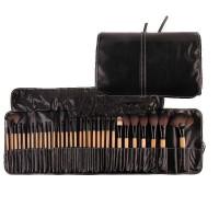 Kuas Make Up Professional Brush Make Up 32 Set dengan Pouch OMHR7SBK