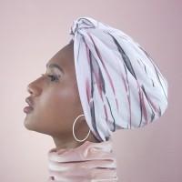 Peanut Butter Velvet Turban - Handmade Series - King