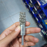 Sikat Kawat End Brush 5/8 Stainless Steel