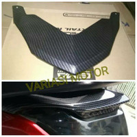 ducktail carbon nmax cover lampu belakang atas carbon yamaha n max