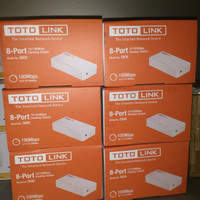 toto link s808 8 port switch 10/100 mbps  bisa gosend