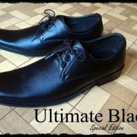 Sepatu Pantofel Ultimate Black Pantopel Murah