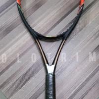 raket tenis wilson nitro c 105 lite plus cover