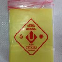 Kantong Plastik Klip Uk 8,7x13cm, Plastik Zipper lock, plastik Obat