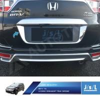 Honda BRV List Plat Mobil Belakang JSL / License Trim Chrome Aksesoris