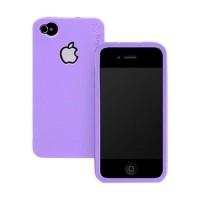 ORI Rearth Ringke Slim Hard Case Casing Apple iPhone 4s - Violet