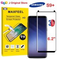 MAXFEEL Tempered Glass 3D Edge Samsung S9 Plus S9+ Case Friendly