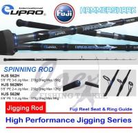 Eupro Hammer Shark HJS562MH PE 2-4 Spinning Jigging Rod Joran Pancing