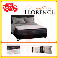 Florence Spring Bed (Satu Set) Siena (160x200) (Queen Size)