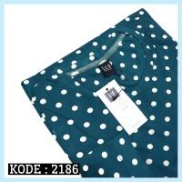 KAOS Printing RAGLAN 2186 Toska KAOS LENGAN PANJANG WANITA PRIA