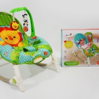 LABEILLE BOUNCER ROCKER BABY WITH  MUSIC PORTABLE LITTLE PUMPKINS TOYS